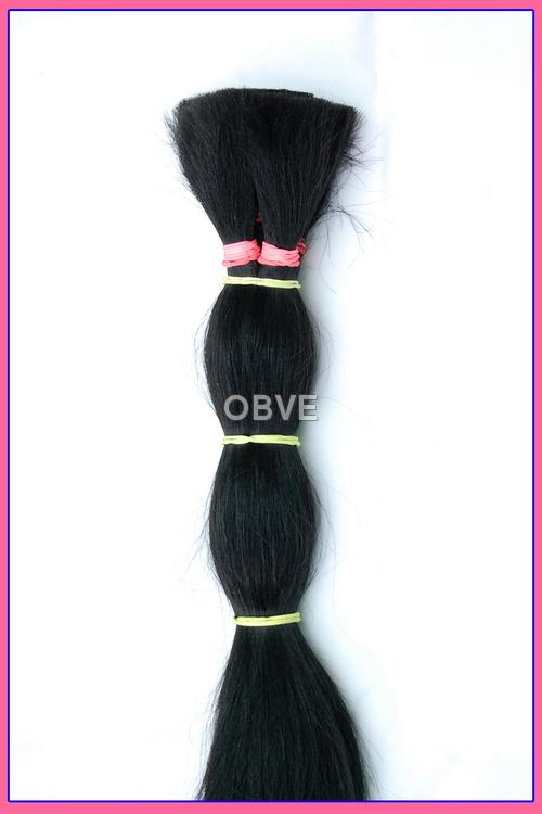 Human Hair - Jet Black