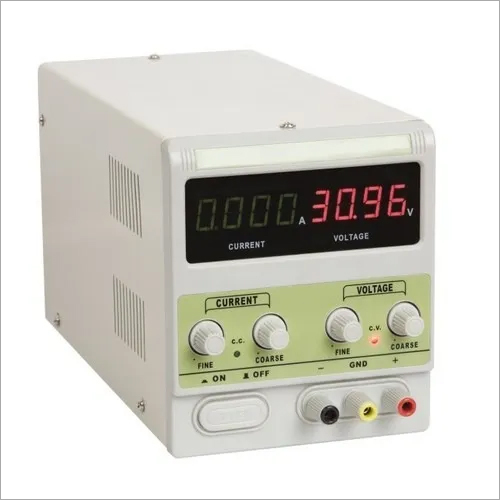 DC Power Supply (30V/3A) 4 Digit Displays