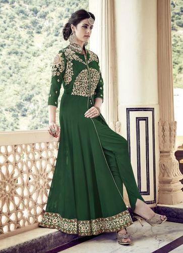 Green Stylish Wedding Wear Suit