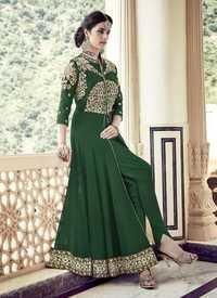 Green Stylish Wedding Wear Suit