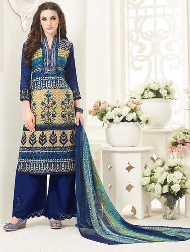 Winter Special Designer Pashmina Suit
