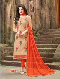 Fancy Chanderi Salwar Suit