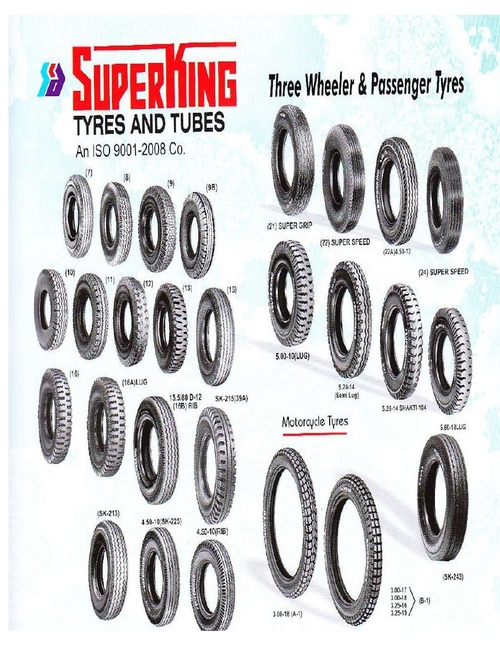 Passenger Three Wheeler Tyres