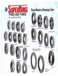 Passenger Three Wheeler Tyres