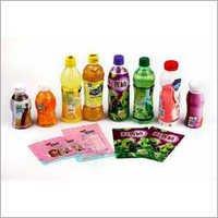 Multicolored PVC Shrink Labels