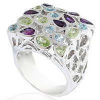mens sterling silver 925  rings cz silver ring for