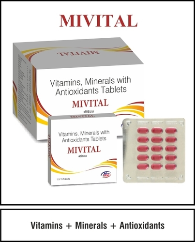 Multivitamin, Multimineral & Trace of Elements