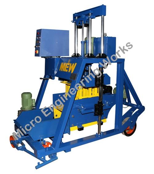 Hydraulic Concrete Making Machine