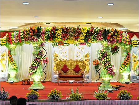 Wedding Stage Decoration Flower