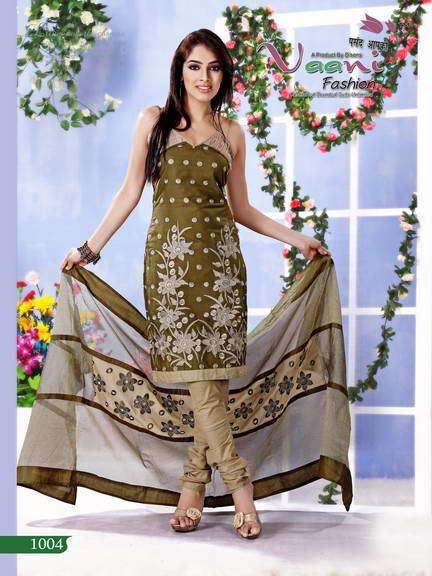 Flower Printed Salwar Suits