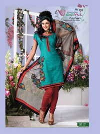 Colored Salwar Suit