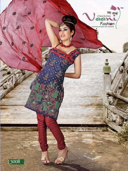Indian Unstitched Ladies Suits