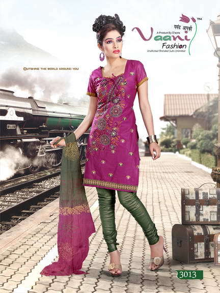 Floral Print Unstitched Suits