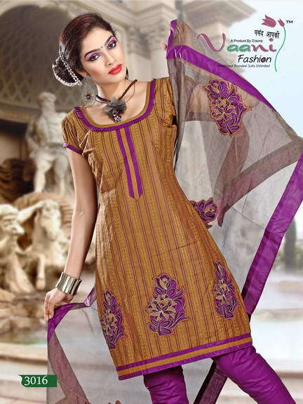 Unstitched Bandhni Suits