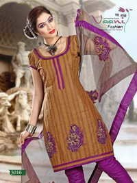 Unstitched Bandhni Suits
