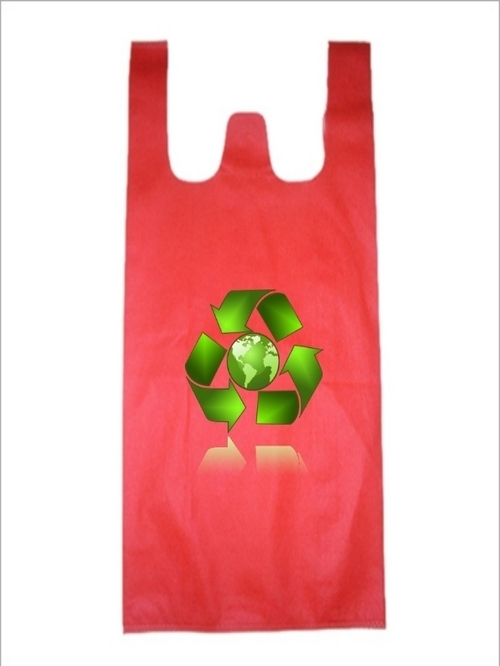 Non Woven W-Cut/T-shirt Bag