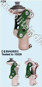 Polycentric mechanical kneejoint