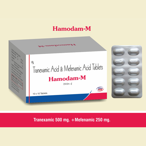 Tranexamic  500 mg. + Mefenamic 250mg