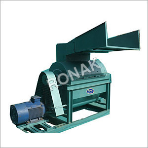 Biomass wood chipper