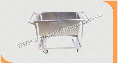 Soil Dish Trolley