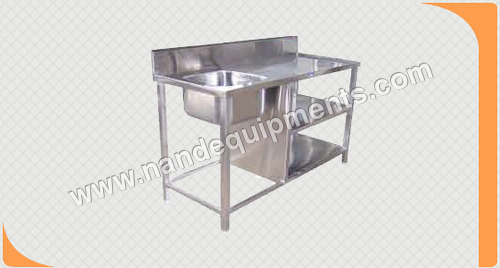 Stainless Steel Sink Work Table