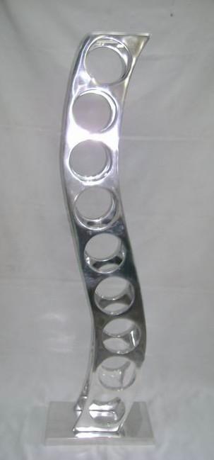 Aluminium Wine Rack