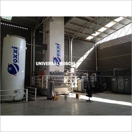 Liquid Oxygen Tank Filling Plant