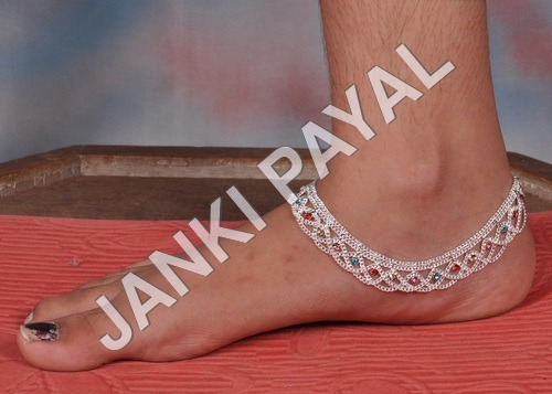 fancy Jhalar  anklets