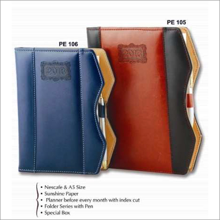 Classic PU Binding Diary