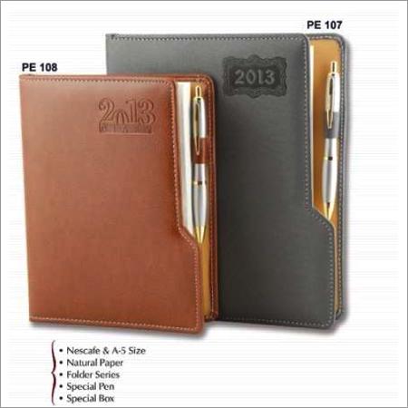 PU Leather Hardcover Diaries