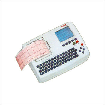 3 Channel ECG Machine with Display