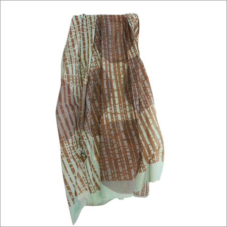 Pure Cotton Printed Scarf