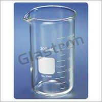 Beaker Low Form Glass Graduated