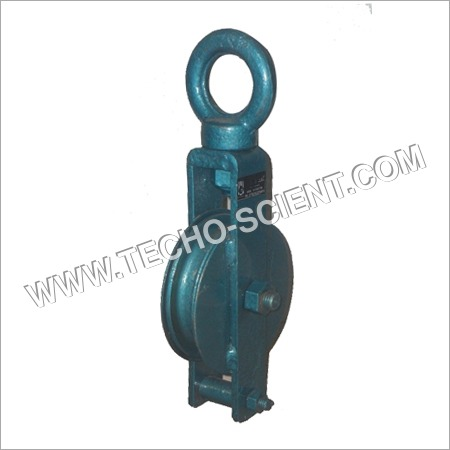 Single Sheave Pulley (Close with I Type Hook)
