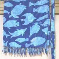 Cotton Fish Printed Pareo