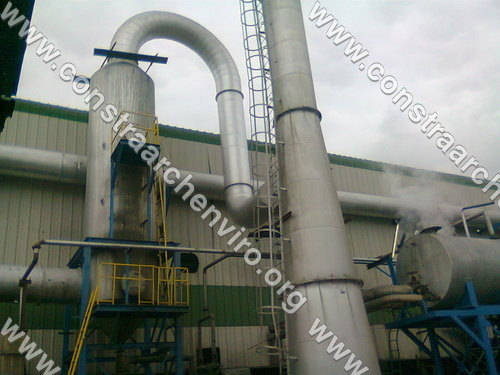 Wet Scrubber for Plywood