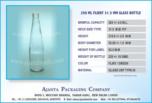 250 ML FLIENT 31.5 MM