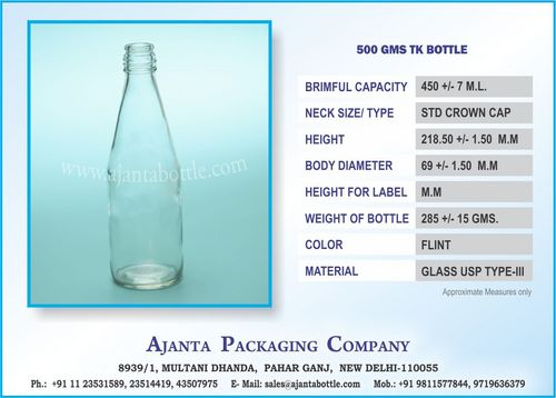 500 GMS TK BOTTLE