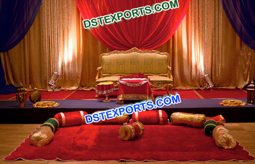 Wedding Stage for Mehandi Decorations