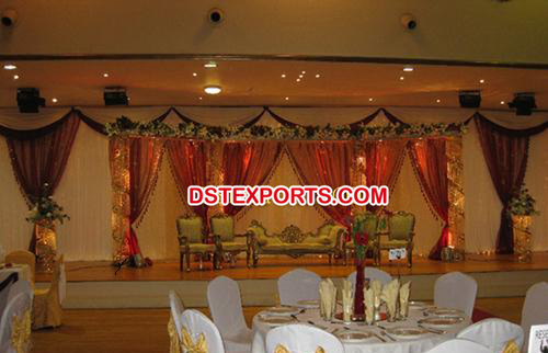 Muslim Nikah Wedding Stage