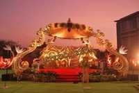 Latest Asian Wedding Theam Stage