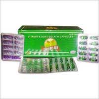 Vitamin E Soft Gelatin Capsules