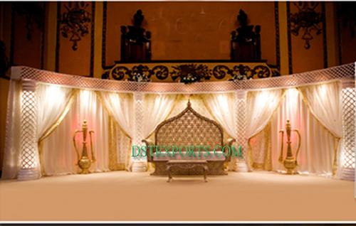 Latest Asian Wedding Light Stage Set