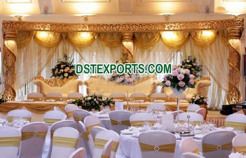 Crystal Wedding Stage Decorations