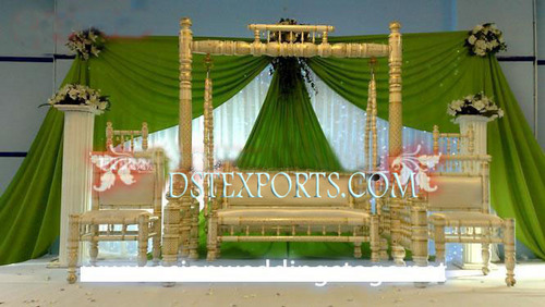 Indian Wedding Stage With Swing