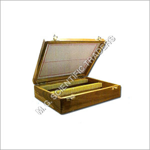 Wooden Slide Box