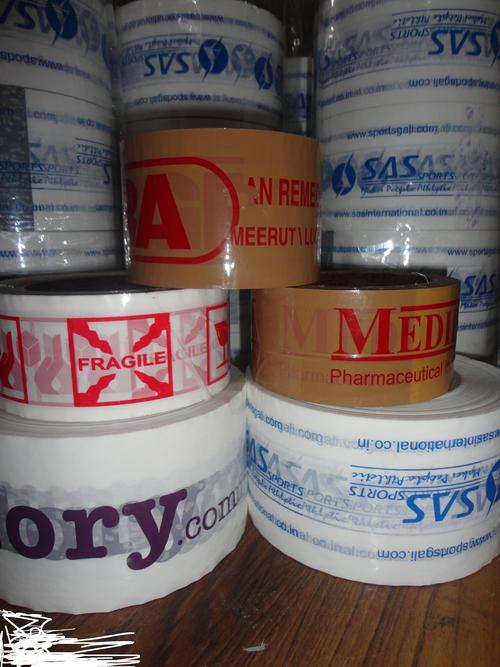 Trancy Brand Logo Printed Bopp Cello Tape