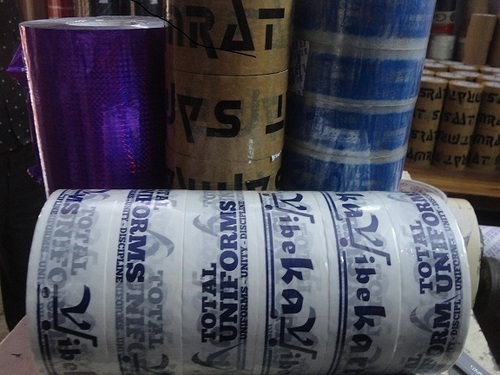 Trancy Brand Printed logo Tape