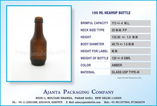 100 ML HEAMUP BOTTLE