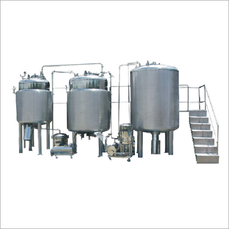 Syrup Suspension Manufacturing Plant